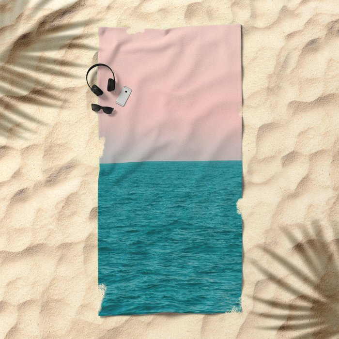 #Turquoise #Sea Beach Towel