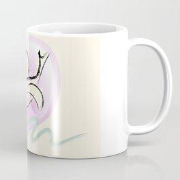 Romantic Dove and Heart Coffee Mug