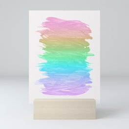 Abstract Minimalism #4 #minimal #ink #decor #art #society6 Mini Art Print
