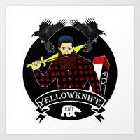 Yellowknife 2.0 Art Print