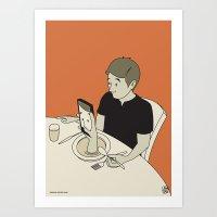 Foodporn Art Print