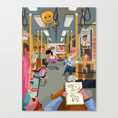 Budapest underground Canvas Print