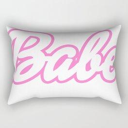 Barbie Babe Rectangular Pillow