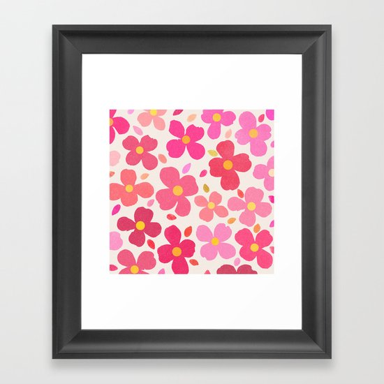 dogwood 7 Framed Art Print