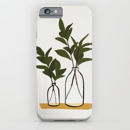 Branches & Bottles iPhone Case