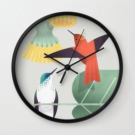 Juan Fernandez Firecrown (cln) Wall Clock