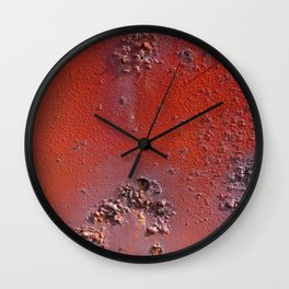 Old Paint Wall Clock