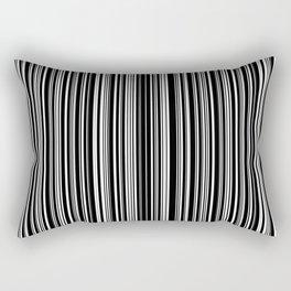 Stripes Collection: Barcode Rectangular Pillow
