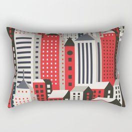 Urban city Rectangular Pillow