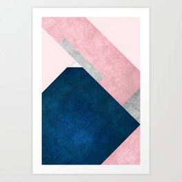 Modern Mountain No2-P1 Art Print