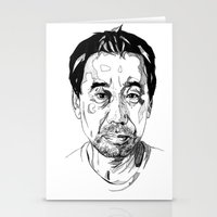 murakami Stationery Cards featuring Haruki Murakami by Giorgia Ruggeri