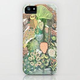 Flora and Fauna iPhone Case