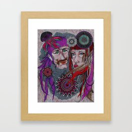 Underwater You and Me  Framed Art Print