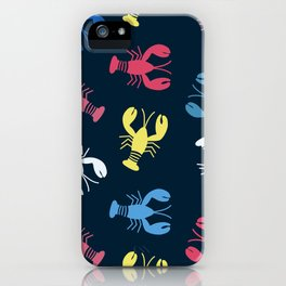 Lobsters Matisse Pattern  iPhone Case