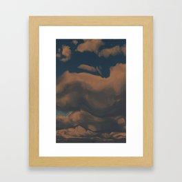 Late Afternoon (Cloud series #2) Framed Art Print
