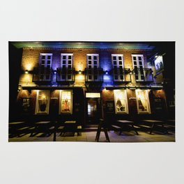 Pub Life in England Rug