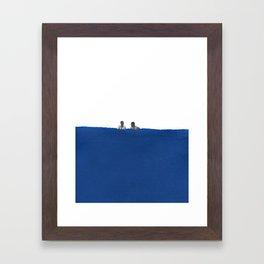 Cool in the Pool Framed Art Print
