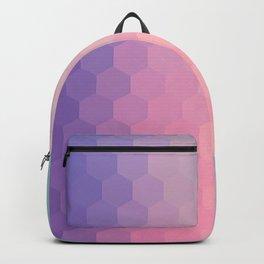Hexagonal Sunrise Backpack