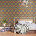 Colorful Liquid Holographic Pattern Abstract Rainbow Waves by cutepatternstextures