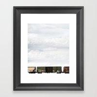 Train 1 Framed Art Print