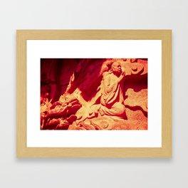 Dragon's Pray Framed Art Print
