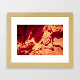 Dragon's Pray Framed Art Print