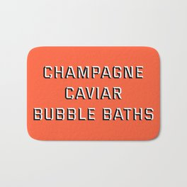 CHAMPAGNE CAVIAR BUBBLE BATHS Bath Mat