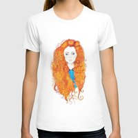be brave T-shirts featuring Brave by FeliciaR