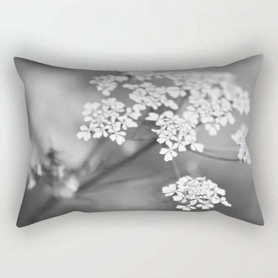 White flower for Valentine's day II Rectangular Pillow