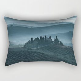 One cold day in Toscany Rectangular Pillow