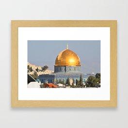 The Dome Framed Art Print