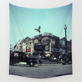 Piccadilly Circus 1961 Wall Tapestry