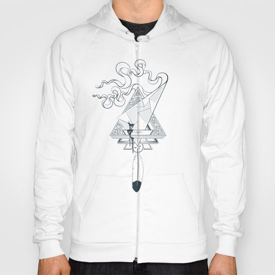 Star Catcher V01 (Black Outline) Hoody