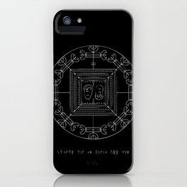 Raise the Dead Stave iPhone Case