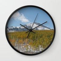 colorado Wall Clocks featuring Colorado by Chris Root