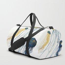Metallic Jellyfish II Duffle Bag