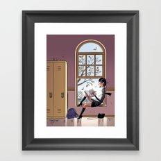 Journal de Karine Framed Art Print