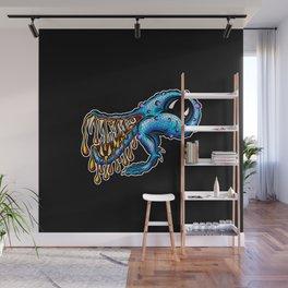 Alien Harry Big Mouth Monster Creature Cartoon Wall Mural