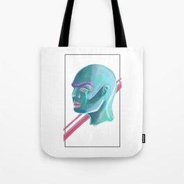 Bald Beauty Tote Bag