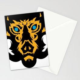 Yellow Hog Stationery Cards