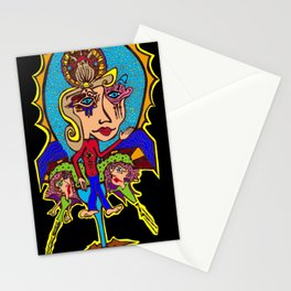 Mary Sunflower Stationery Cards