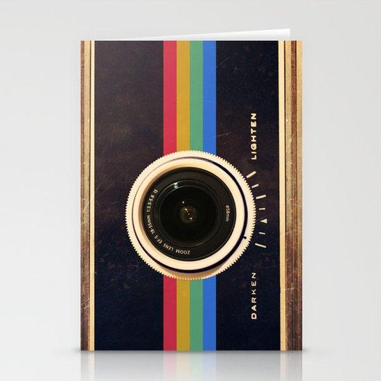Modern Vintage inspired Camera! Stationery Cards