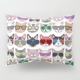 Hollywood Cats Pillow Sham