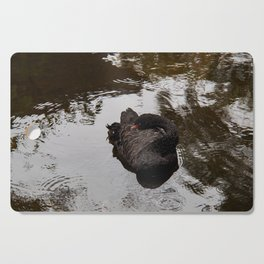 Black Swan Cutting Board
