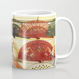 Spanish Scratched Fans Coffee Mug