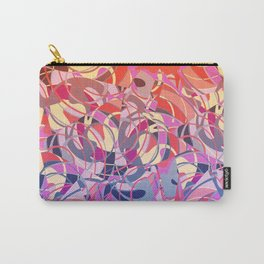 Summer Sunset Abstract - Purples and Reds Carry-All Pouch