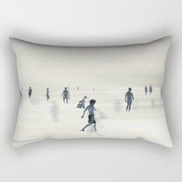 floating on light Rectangular Pillow