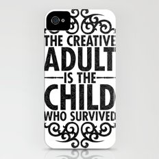 Creative iPhone (4, 4s) Slim Case