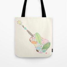 Let your Guitar Sing Tote Bag