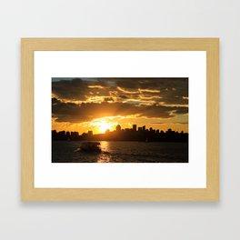 Follow the Sun Framed Art Print